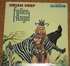 LP Vinyl Uriah Heep Fallen Angel Tour Calender Klappcover Bronze 26 449 XOT