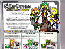 Killer Bunnies and the Ultimate Odyssey Lively and Spry Starter Deck Board Game