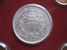 "SAN MARINO 5 Euro 2006 BU ""Melchiorre Delfico"" Silber aus dem KMS"
