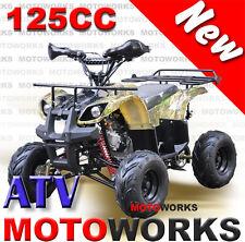MOTOWORKS 125CC Farm ATV QUAD Bike Dirt Gokart 4 Wheeler Buggy cgreen