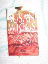 The Firebrand Susan Wiggs Chicago Fire Trilogy PB Historical Romance