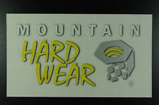 Mountain Hardwear - Opaque, Clear - Sticker Decal - Climbing Hiking