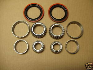 48 49 50 51 52 53 54 55 56  FORD F1 F100 PICK UP FRONT WHEEL  BEARINGS + SEALS