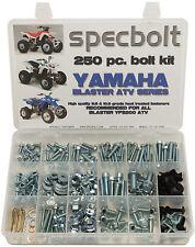 250pc Bolt Kit Yamaha Blaster YFS 200 ATV QUAD plastic body frame motor fenders