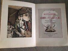 LA ROTISSERIE de la Reine Pédauque / Anatole France - SYLVAIN SAUVAGE/ 1935
