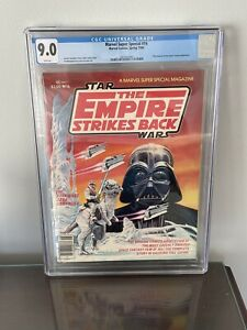 Marvel Super Special 16 CGC 9.0 First Boba Fett Yoda 🔥White Pages