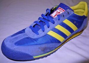 Mens Blue ADIDAS SL 72 Retro Beijing Olympic Shoes size 11.5