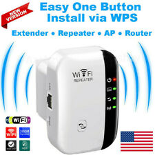 Wifi Range Extender Internet Signal Booster Wireless Network Repeaters Amplifier