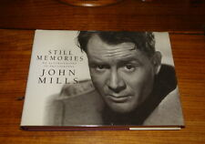 STILL MEMORIES-AN AUTOBIOGRAPHY IN PHOTOGRAPHY BY JOHN MILLS-SIGNED COPY