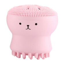 Silicone Face Wash Tool Bubble Cute Animal Hand Squeeze Deep Clean Brush M CDB