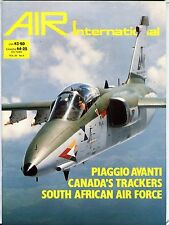 Air International Magazine April 1988 Piaggio Avanti EX No ML 112316jhe