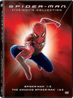 Spider-Man: 5-Movie Collection [New DVD] Boxed Set, Dolby, Dubbed, Subtitled,