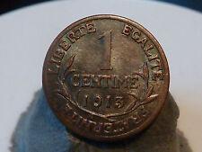 PL8(37) - 1 CENTIME - DUPUIS - 1913 - RARE & QUALITE SUP !