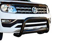 Black Nudge Bar Bullbar Bumper Guard for VW Amarok 10-18 C