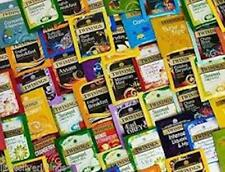 70 ASSORTED TWININGS TEA BAGS, 7 FLAVOURS, INDIVIDUAL SACHETS ENVELOPES