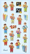 Softy Sticker 123 Junge Schulanfang Schulbeginn Einschulung Schultüte basteln