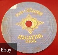 Stamp collector's magazine books scanned to Pdf Epub & Kindle formats on disc