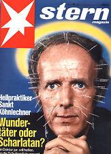 Magazin STERN  Nr 48 von 1975, Köhnlechner Scharlatan?; Ballett Margot Fonteyn