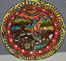 Penzo Pottery Zimbabwe Hand Painted Plate 5.5