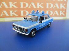 Die cast 1/43 Modellino Auto Polizia Police Fiat 125P Milizia polacca by Ist