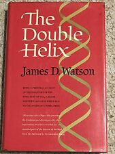 1st printing Atheneum 1968 The Double Helix James D Watson Dustjacket