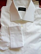 Duchamp-Londra Smart Elegante Bianco Formale/Lavoro Camicia Uk 16.5 EU 42