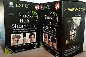 Black Hair Shampoo For Men & Women Just 5 Minutes Instant Dye Unisex Last 30 day