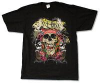 "GUNS N ROSES ""TRASHY SKULL 2013 TOUR"" BLACK T-SHIRT NEW OFFICIAL ADULT"