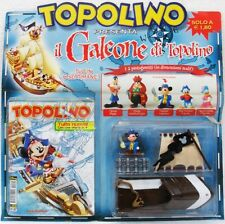 """TOPOLINO """"Il galeone di Topolino"""" 1a uscita n° 2520 blisterato con fumetto"""