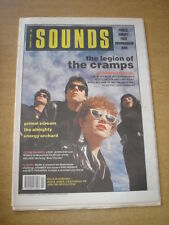 SOUNDS 1990 FEBRUARY 17 CRAMPS PRIMAL SCREAM ALMIGHTY ENERGY ORCHARD