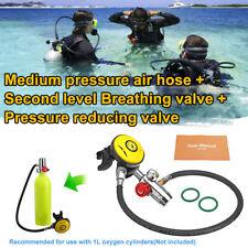 SMACO PV-001 Medium Pressure Regulator Air Hose + Second Level Breathing Valve