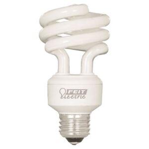 Feit BPESL18TM/D Non-Dimmable Compact Fluo bulb 18W 120v Med base 6pk