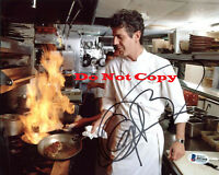 Anthony Bourdain No Reservations Signed 8x10 autographed RP