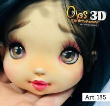 EYES STICKERS 3D-OJOS AUTOADHESIVOS MARIELA LOPEZ,PORCELAIN,FOAM # 151-UP-3D