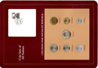 Coin Sets of All Nations Czechoslovakia 1970-1983 UNC 5 Korun 1982 2 Korun 1983
