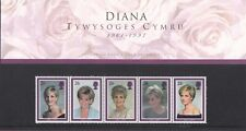 (87480) CLEARANCE GB Presentation Pack WELSH Princess Diana 1998 NO CELLOPHANE