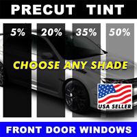 Dark Black 15/% VLT Film VW Jetta 4 dr 85-91 PreCut Window Tint