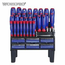 WORKPRO 100PC Screwdriver Set Home Tool Set Precision Screwdrivers for Phone Scr