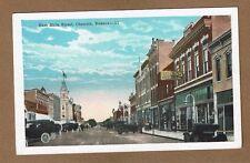 Chanute,KS Kansas, East Side Main Street,  circa 1930