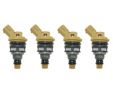 Set of 4 Fuel injectors 750cc for Subaru STi Legacy GT EJ25 Turbo Flow Matched