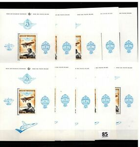// 10X BELGIUM - MNH - AVIATION - PLANES - 1976