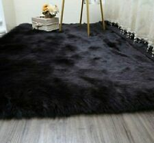 75bfd3b9d3f Faux Fur Black Area Rugs for sale | eBay