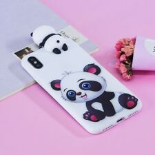 3D Cute Cartoon Panda Soft Silicone Shockproof Case Cover For iPhone XS 8 7 6 5S