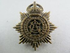 Military Cap Badge ASC Army Service Corps British Army 1901-19 Firmin Tablet