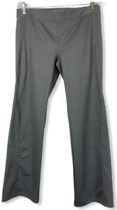 Victoria Secret VSX Sport Active Yoga Pants Size Large Sleek Fit Stretchy Grey