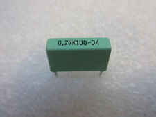 2 condensateurs 0,27uF 270nF 100V ERO MKT1822