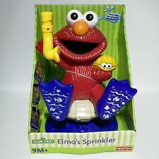 Sesame Street Elmo's Sprinkler Yard Water Sprinkler Toy Infant to Preschool 2004