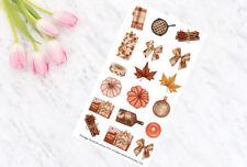 Pumpkin Pie Decorative Planner Stickers all Planner Types Erin Condren, Personal