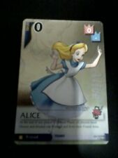 Alice 25/162 SR card Kingdom Hearts TCG CCG Disney Square Enix Wonderland