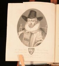 1802 Memoirs of the Peers of England during the Reign of James I E.Brydges 1stEd